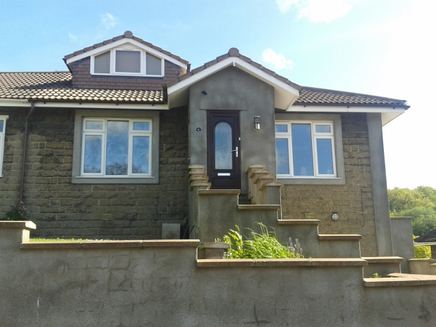 Extensions, attic conversions and new porch to bungalow in St Annes