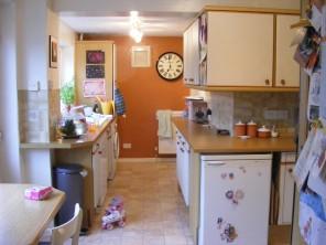 The original kitchen