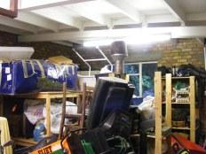 Garage- before