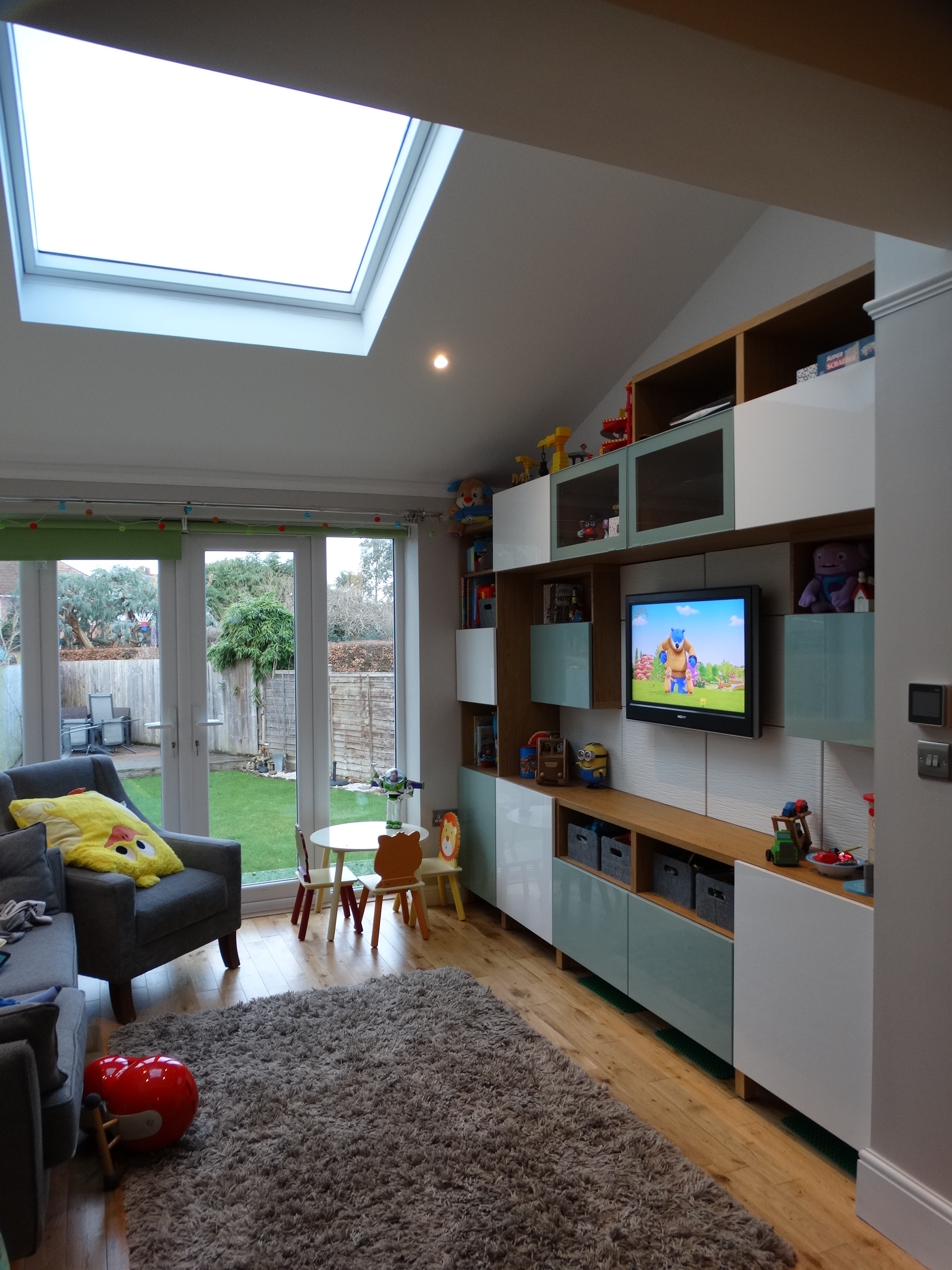 Family Room And Utility Extension In Bromley Heath